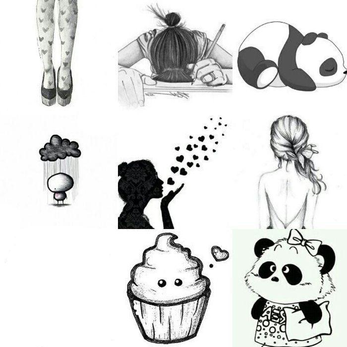 Картинки для распечатки красивые для лд черно белые 14
