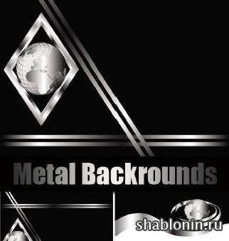������� �������� ���� � ������� / Metal backrounds