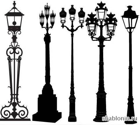 Столбы фонарные своими руками