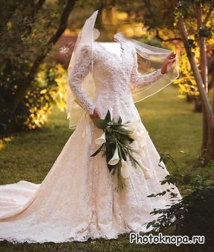 c76ce0e3d95 Женские шаблоны для photoshop - Свадебные платья скачать бесплатно