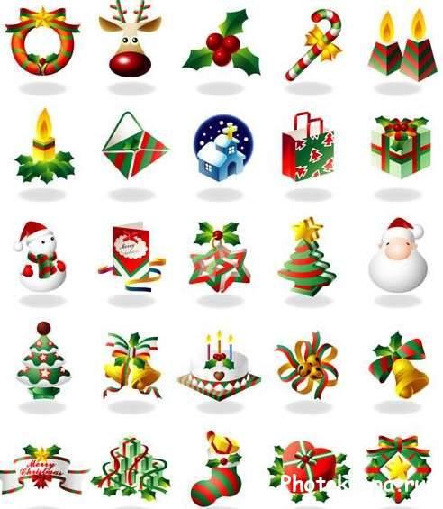 Новый год картинки символов