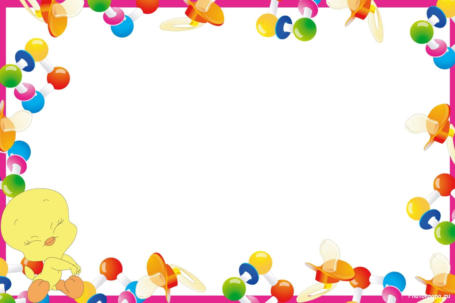 Детские картинки с днем рождения для детей
