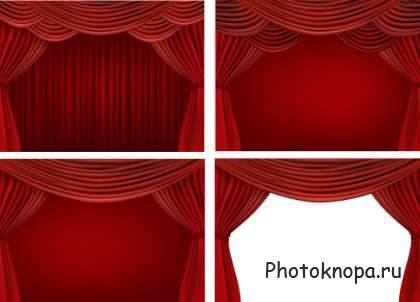 Шторы | Векторный Клипарт - Vector-Images com