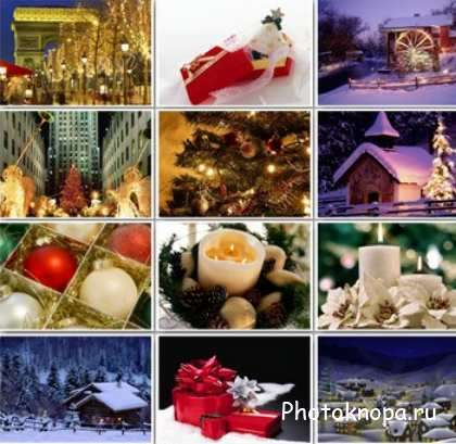 ���������� ���� / Clipart New Year backgrounds