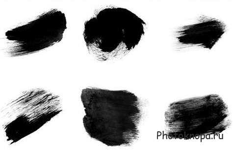 кисти краска для фотошопа: