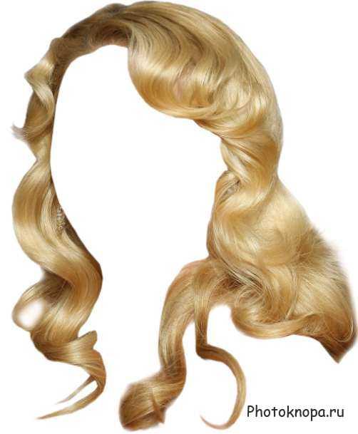 фотошоп прически блондинок