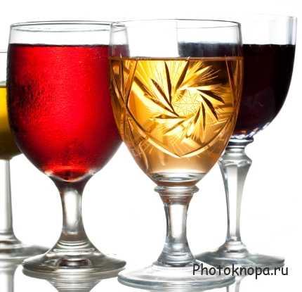 Спиртные напитки со свежими фруктами