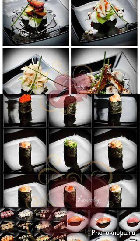 Суши клипарт и растровые картинки