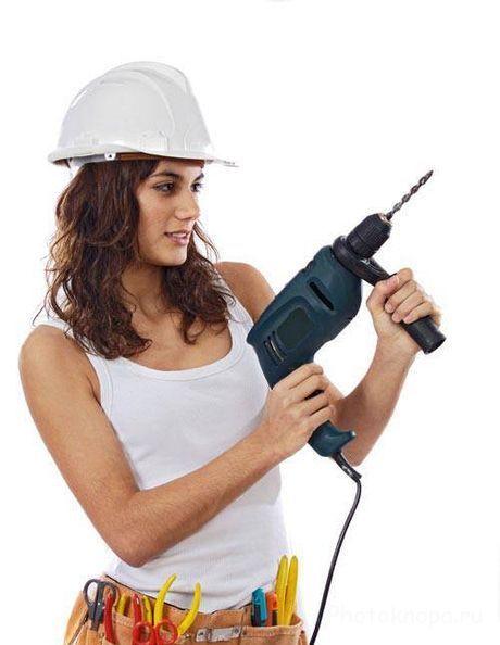 сексуальные девушки делают ремонт фото-тр2