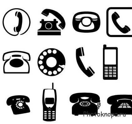 клипарт мобильный телефон: