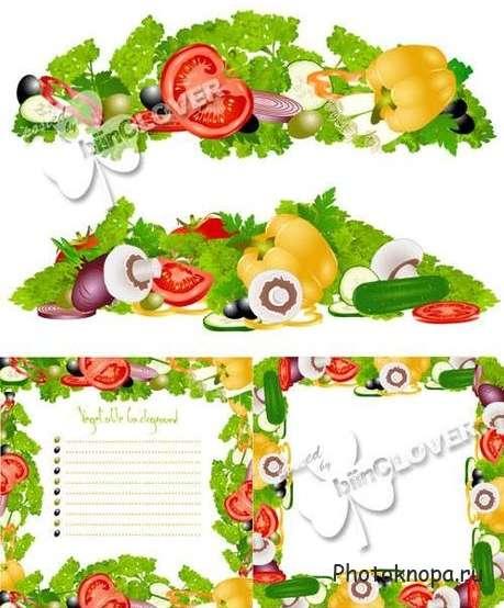 рамка здоровое питание