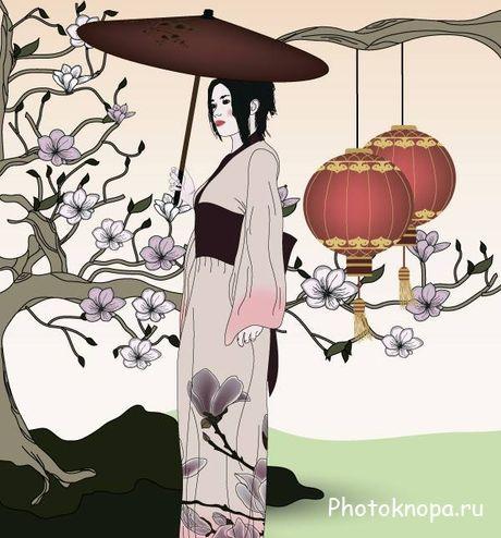 Секреты древних красавиц Японские гейши