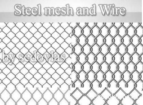 Колючая проволока и металлическая сетка в векторе скачать ... Чешуя Текстура