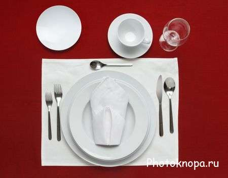 Доставка предметов сервировки стола