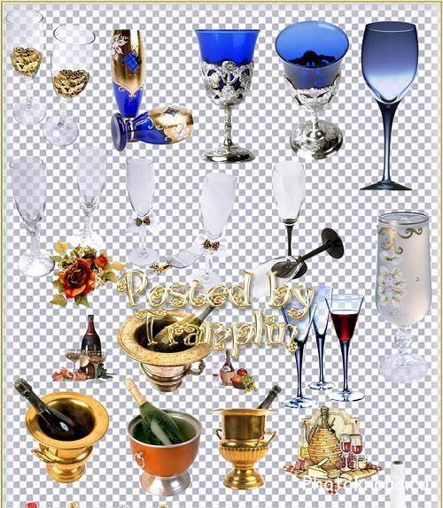 картинки шампанское на прозрачном фоне