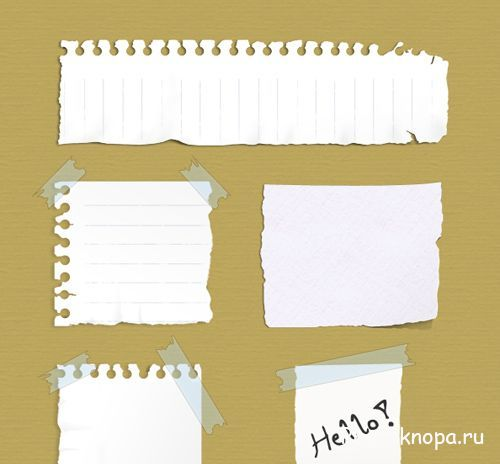 тетрадный лист клипарт: