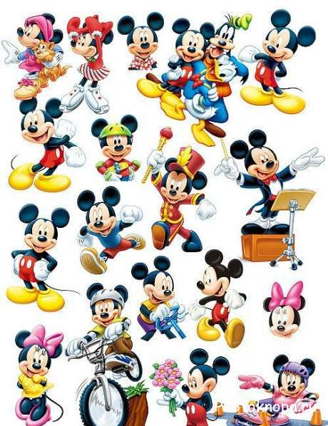 ������� ����� ���� / Mickey Mouse - PSD �������� ��� ��������