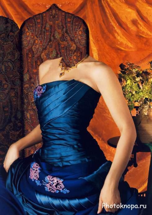 Шаблон psd женские платья