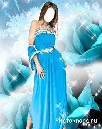 Фото девушек в голубом платье, кончающие пизды на фото и видео