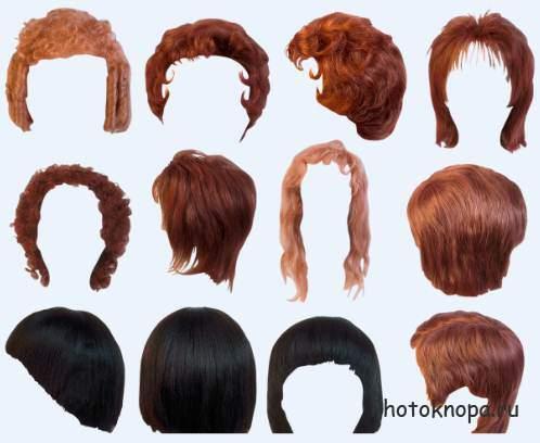Волосы и прически для фотошопа