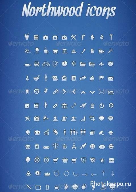 красивые иконки для сайта: