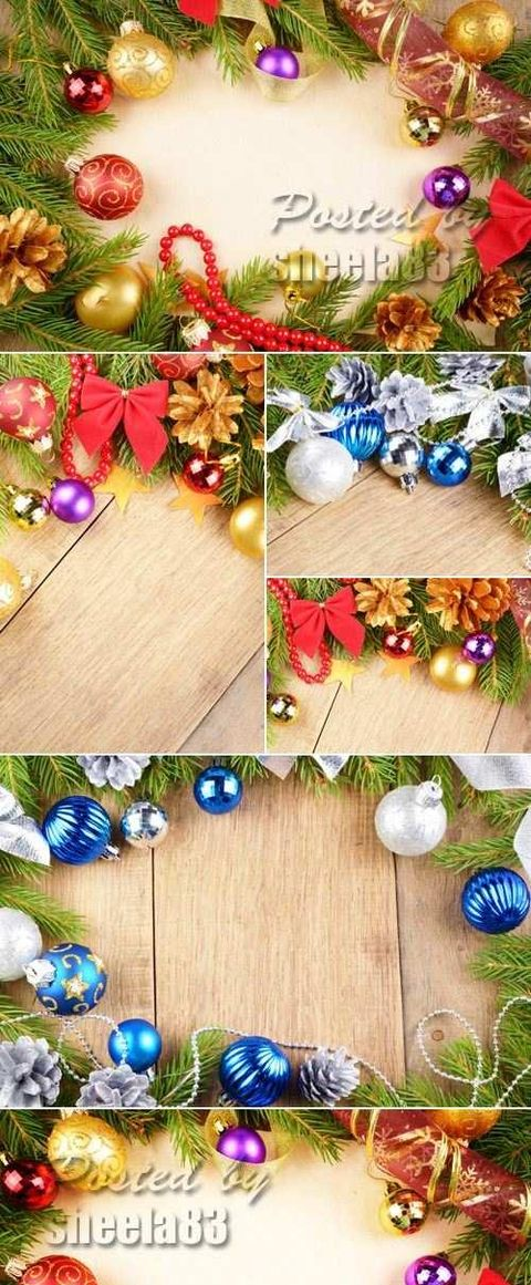 Stock Photo - Christmas & New Year Backgrounds