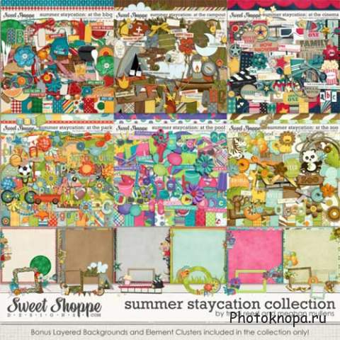 ������ �����-�������� - Summer Staycation Collection