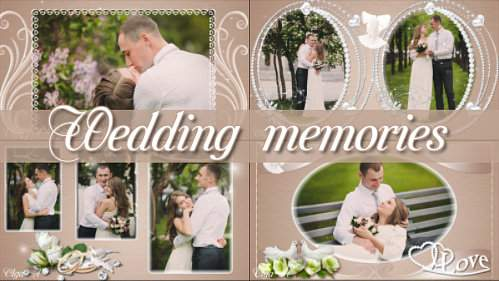 Проект для ProShow Producer - Свадебные воспоминания