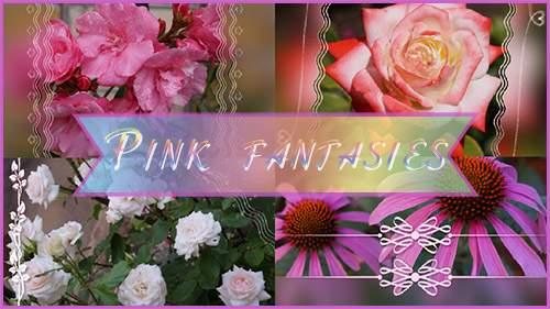 Розовые фантазии - проект для ProShow Producer