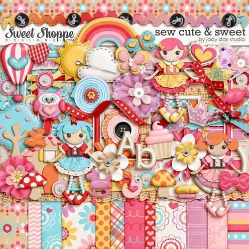 Детский скрап-набор - Sew Cute and Sweet