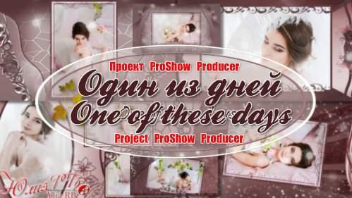 Проект для ProShow Producer - Один из дней