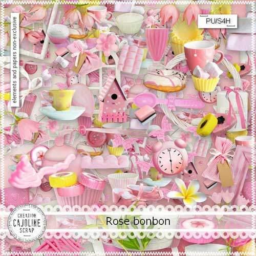 Scrap - Rose Bonbon