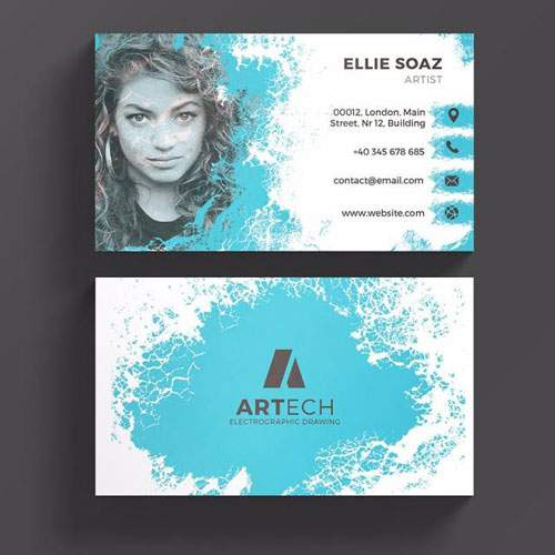 Plasma - business card