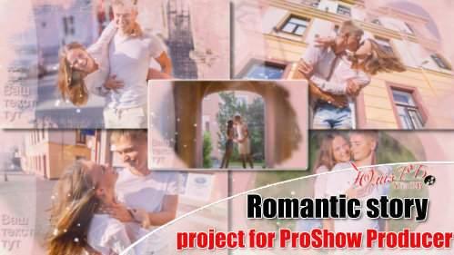 Проект для ProShow Producer - Романтичная история