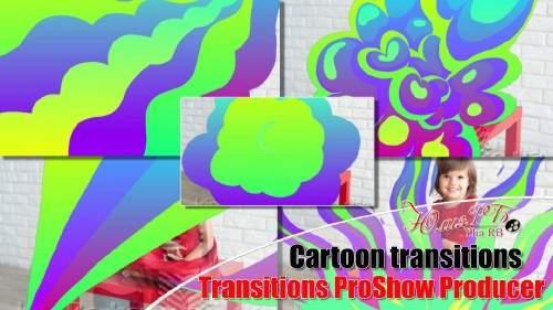 Мультяшные переходы для ProShow Producer