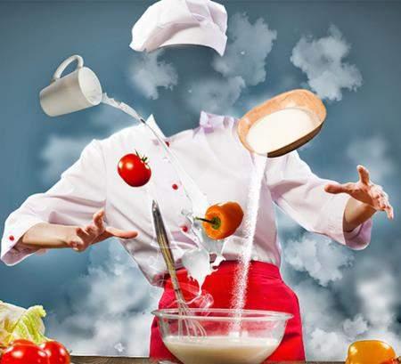 Фотошаблон для photoshop - Магия повара