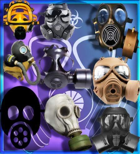 Клипарты для фотошопа - Защитные маски