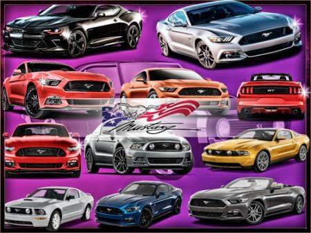 Png без фона - Автомобили Mustang