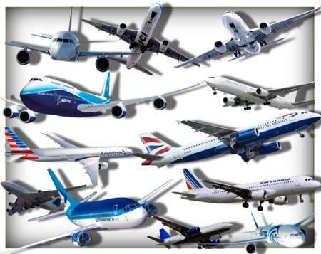Png прозрачный фон - Пассажирские самолеты