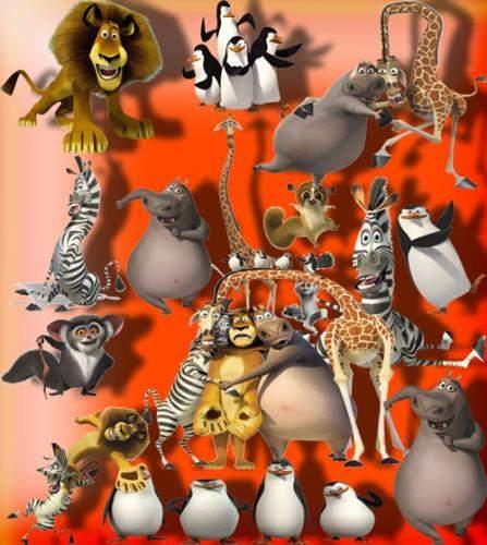 Картинки на прозрачном фоне - Мадагаскар