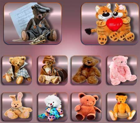 Png без фона - Плюшевые игрушки