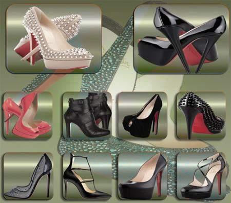 Png клипарты для фоторамки - Туфли на шпильках