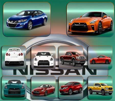 Прозрачные клипарты для фотошопа - Автомобиль Nissan Ниссан