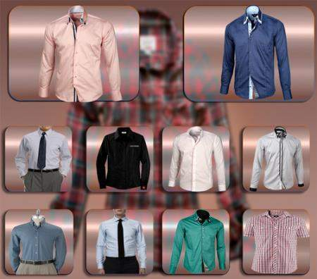 Png прозрачный фон - Мужские рубашки
